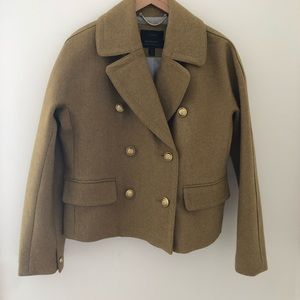 New without tags Jcrew wool crop coat